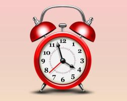 Alarm Clock Icon (PSD) by softarea