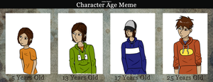 Character Age Meme -Jamie by Gothalla123