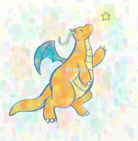 Dragonite by Odettery