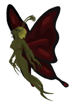 Butterfly Demon by Wends