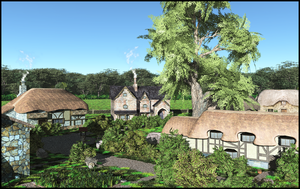 Small Rural Village by jbjdesigns