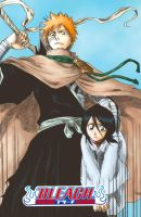 Bleach chapter 152 manga color by Helios-chan