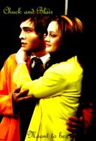 Chuck and Blair by fairyemmo