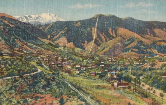 Vintage Colorado - Manitou Springs + Incline by Yesterdays-Paper