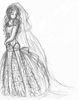 Dress of the wedding XD by chinchilla-luver