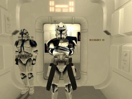 Captain Rex phase II Armor by CptRex