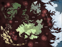 Map of Mynreos by Riftmaw
