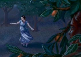 Dancing Under the Orange Trees by RosaleeLuAnn