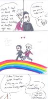 Frolicking on the Rainbow by sparklingblue