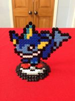 Pokemon: Vaporeon- Hama Design by Dogtorwho