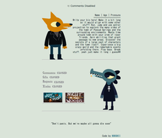 Night In The Woods [Non-Core Box Code Request] by KH0SHII