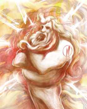 Olympic Zeus by obscureBT