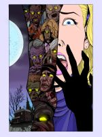 NIGHT OF THE LIVING DEAD colors by CThompsonArt