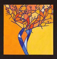 Tree Branches - Complementary Colors by towelgirl21