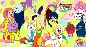 Adventure Time Kids by Arcana-break