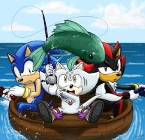 Contest Entry - Fishing by WhiteRaven4