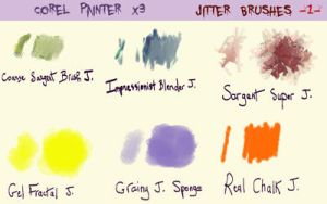 Jitter Brushes  -1 - by fmr0