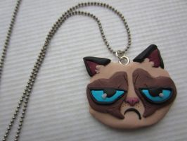 Fimo Grumpy Cat by Zoeira
