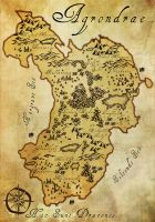 Agrondrae Map by Bailiwick