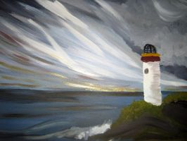 Lighthouse by kailorien