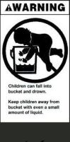 Children can fall into buckets? by ZombiesLuvMuffins