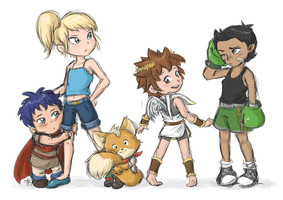 super smash babies by Rainmaker113