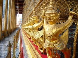 demons of the emerald Buddha by naz1