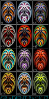 Gradient Pack 17 for apophysis by NinthTaboo
