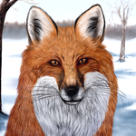 Winter Fox by Iolanthae