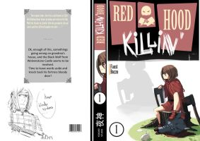 Red KILLING Hood MANGA COVER by faustsketcher
