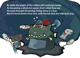 The plight of the catfish by J4sonH4n
