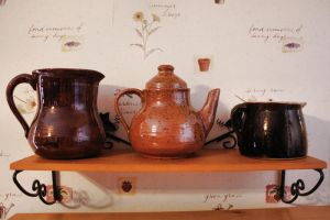 3 Pottery Pieces Stock by Moon-WillowStock