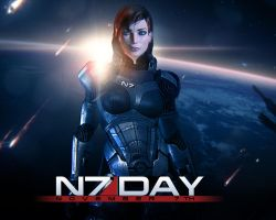 N7 DAY! by IscariotArt