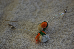 Sushi Earrings by Jiel