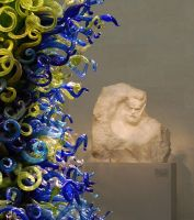 Chihuly and Rodin by MYLermontov