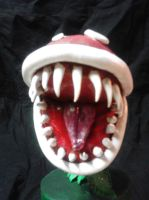 Piranha plant mouth by spamie