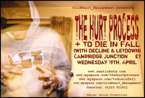 The Hurt Process Poster by DesignatedDisaster