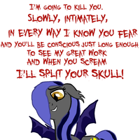 Slowly, Intimately, In Every Way I Know You Fear by FinalSmashPony
