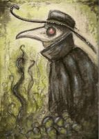 atc card +dirty plague doctor+ by Opaca