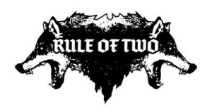 Logo work for the band Rule of Two by torvenius