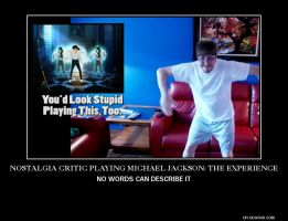Nostalgia Critic Playing MJ: the Experience by SuperAlex64