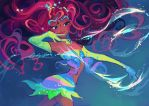 Magic sea breeze by LadyShalirin