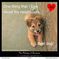 Neighbour's dog meme :: The Ministry of Nonsense by msahluwalia