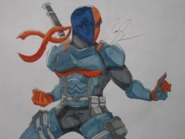 Deathstroke by FreshCut98