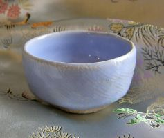 Opal blue teabowl by CorazondeDios