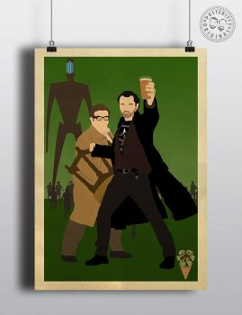 The Worlds End Cornetto Posteritty Poster by Posteritty