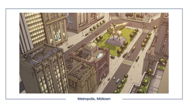 DC Online Metropolis Midtown by olivernome