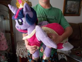 my little pony very huggable princess twilight by CINNAMON-STITCH