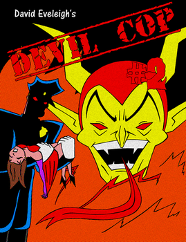 Devil Cop #2 - Cover by ivy7om