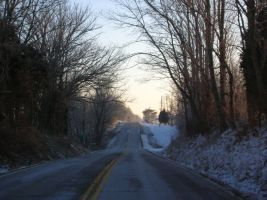 winter road stock 2 by KEArnold
